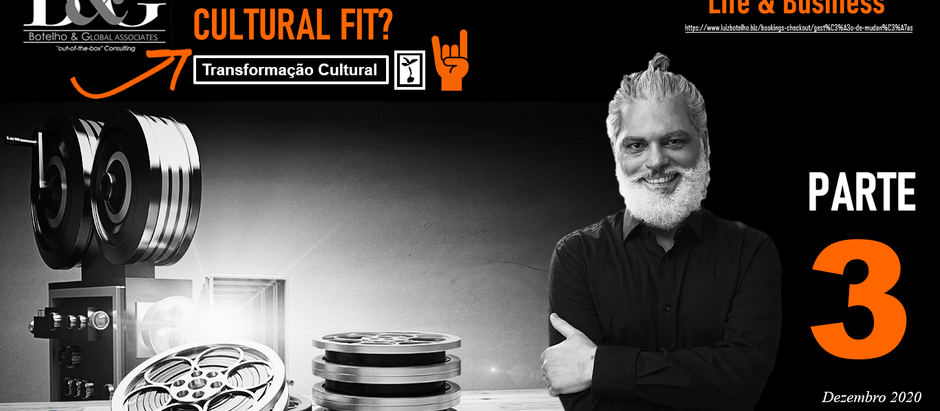 Cultural Fit? Part #3 (at the organizational level)