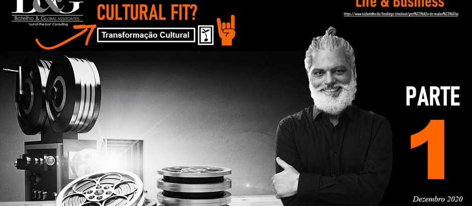 Cultural Fit? Part #1 (on a personal level)