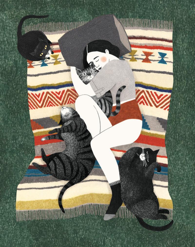 Kattenvrouw