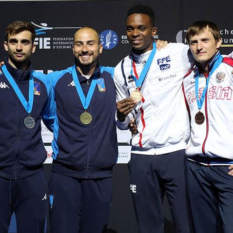 Успехи москвичей на Чемпионате Европы