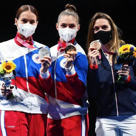 Российские фехтовальщики - сильнейшие на ОИ-2020 в Токио
