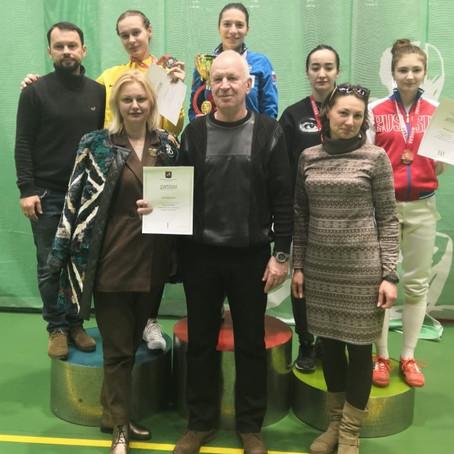 Результаты Чемпионата Москвы по фехтованию