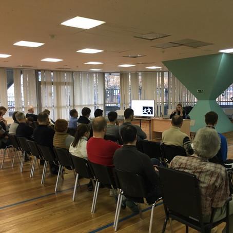 19.11.2018г. в с/к Чертаново состоялся семинар (фотоотчет)