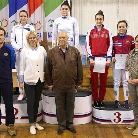 Результаты Кубка Москвы по фехтованию