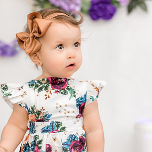 Olivia's First Year Session