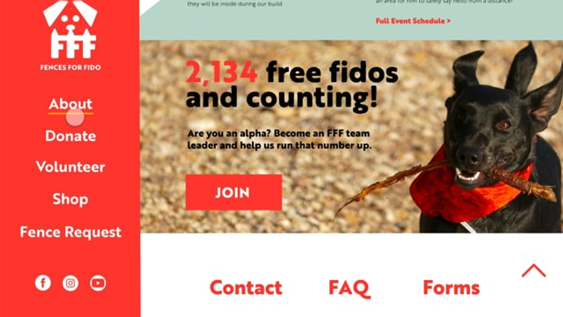 Fences for Fido Website