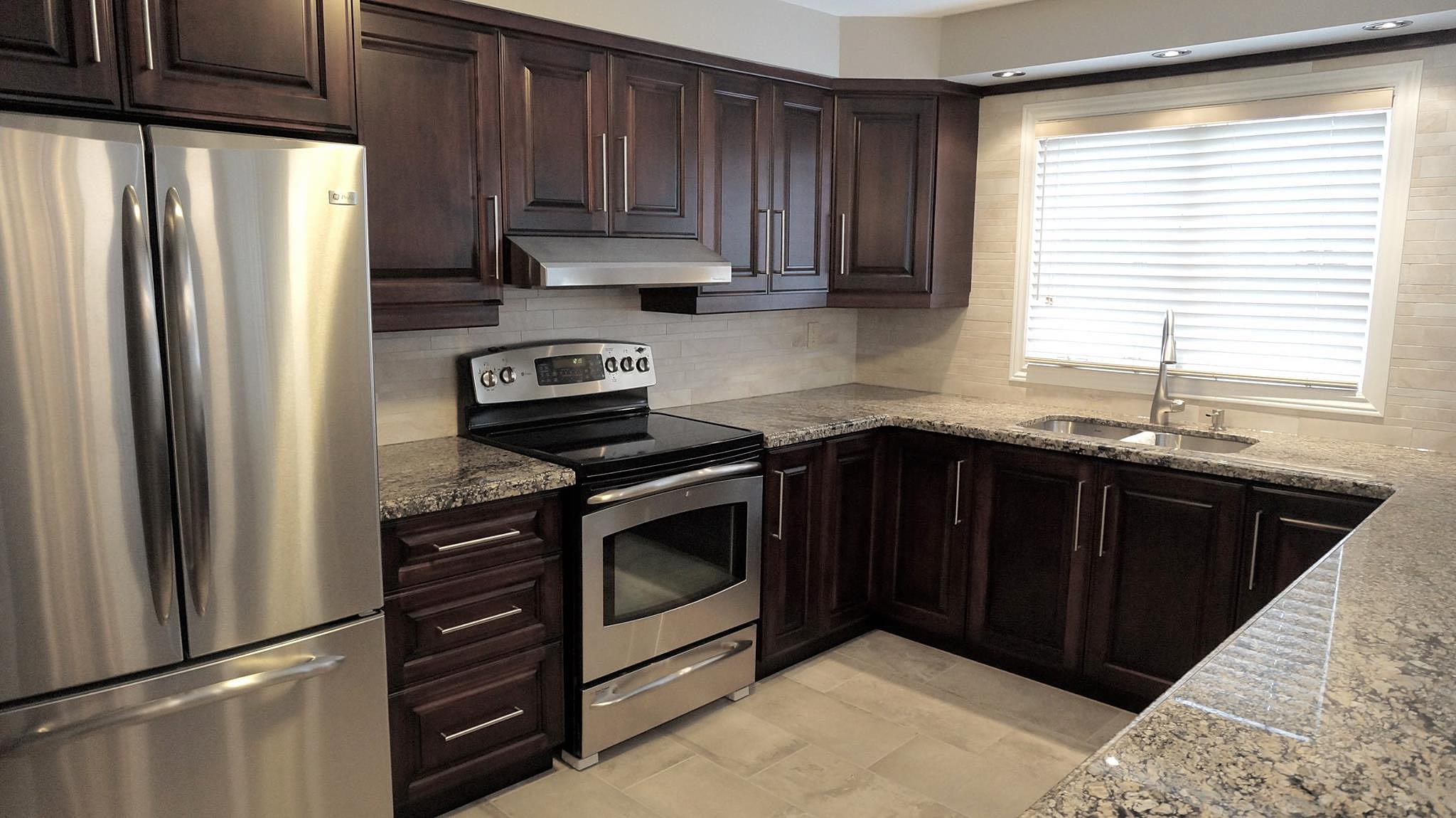 Kitchen Cabinets Espresso Maple