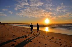 Walk/Jog on beautiful beaches