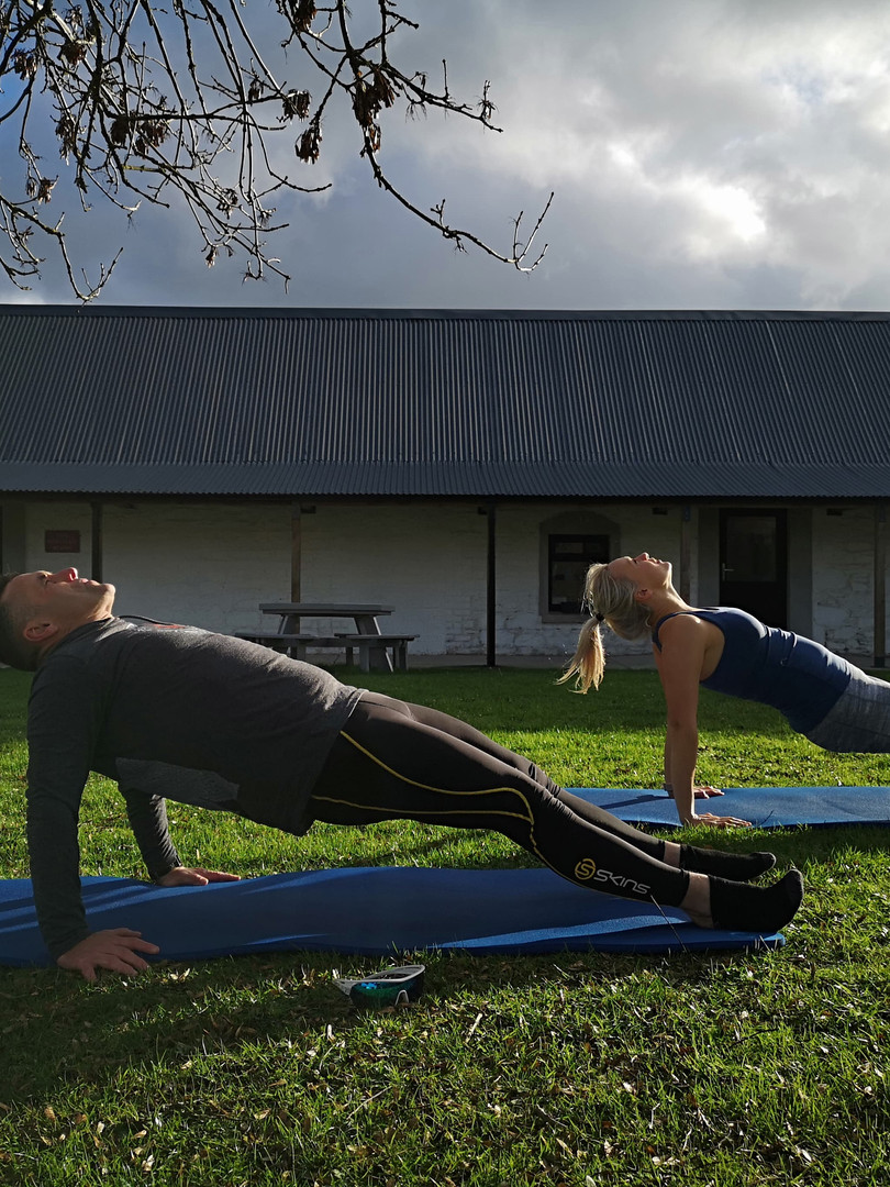Outdoor Pilates