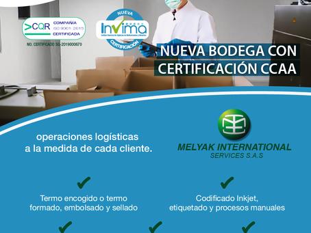 Nueva bodega con certificación CCAA