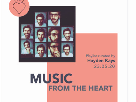 PLAYLIST 006 - GETTING TO KNOW YOUR NEIGHBOURS Curated by Hayden Kays