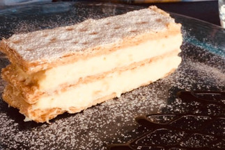 Millefoglie with pastry cream