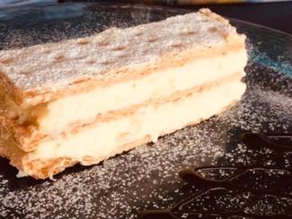 Millefoglie with pastry cream