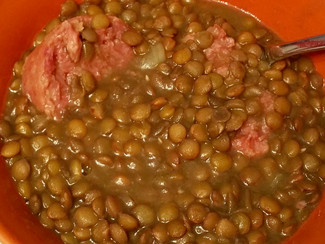 Lentil soup 🥣