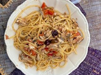 """Spaghetti alla """"Ligure"""""""