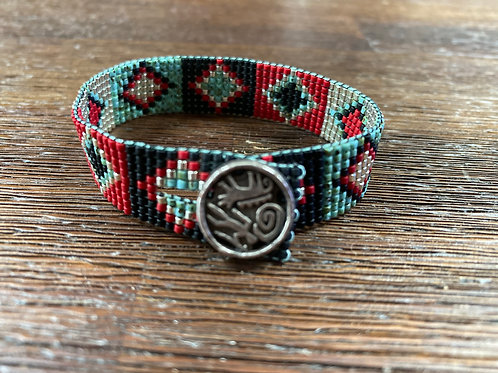 Southwest Loomed Bracelet
