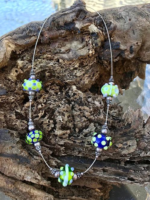 Handmade Lampwork Bead Necklace