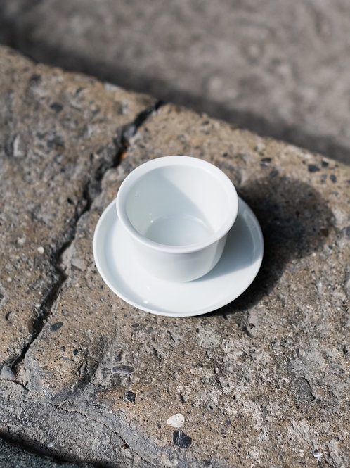 Cup & Saucer by KINTO