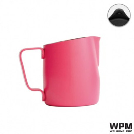 10OZ WPM PITCHER PINK WITH ROUND SPOUT