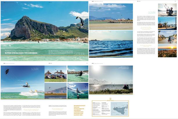 Kiteboarding Magazine - Travel Report Sicily