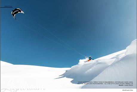 IKSURFMAG - Brambrüesch Snowkite (Julian Meister)