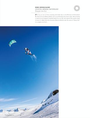 TheKiteMag - Snowkiting Bernina (Roman Kaiser)