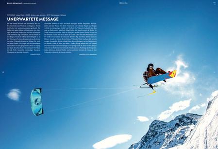 Kiteboarding - Andrea Ammann Bernina