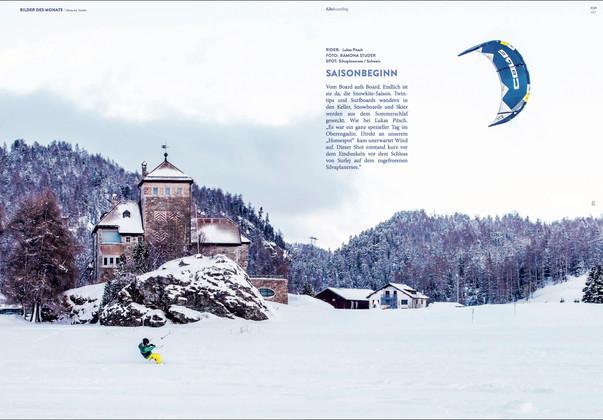 Kiteboarding - Silvaplana (Lukas Pitsch)