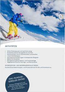 Hochwang Winter Flyer 2018/2019