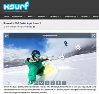 IKSURFMAG  - 360° Swiss Alps