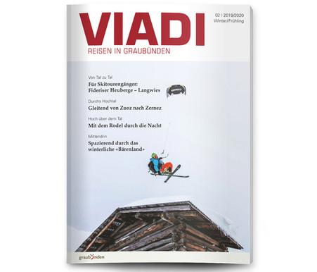 Cover Viadi Magazin - Julian Meister