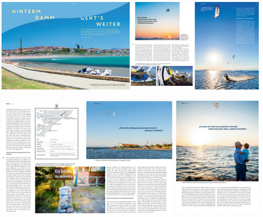 "Kiteboarding Magazin - Reisebericht ""Ayvalik"""
