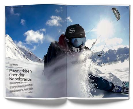 Kiteboarding - Lukas Pitsch Lukmanierpass