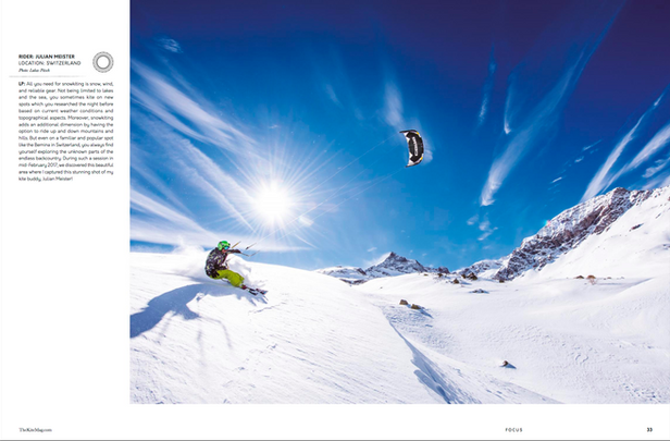 TheKiteMag - Snowkite Bernina (Julian Meister)