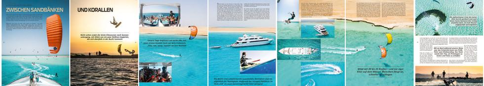 Kiteboarding - Ägypten 2019
