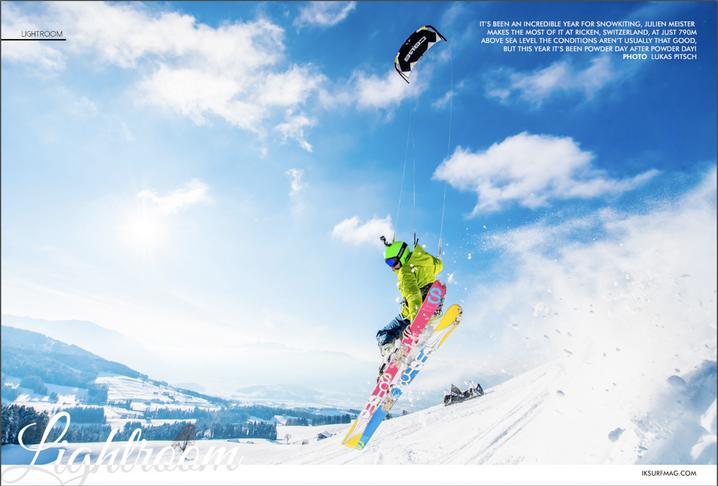 IKSURFMAG - Rickenpass Snowkite (Julian Meister)