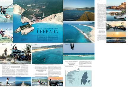 Kiteboarding Magazin - Travel Report Lefkada
