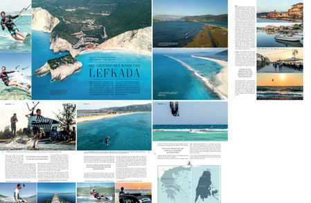 Kiteboarding Magazin - Reisebericht Lefkada