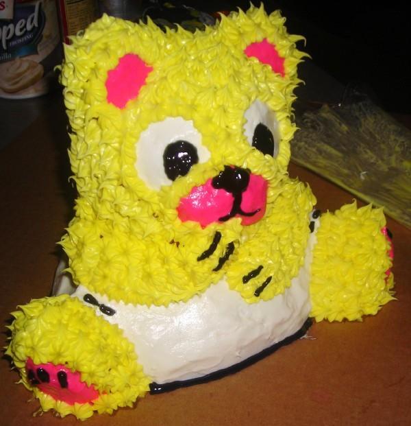 Baby Bear Cake