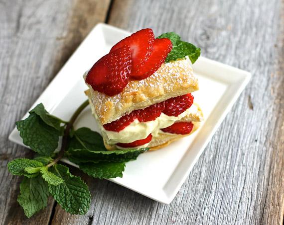 Princis Strawberry napoleon