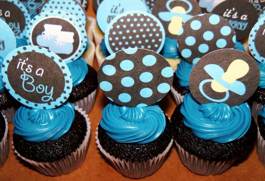 It's a Boy Cupcakes