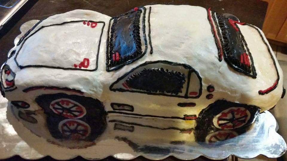 Maserati Cake