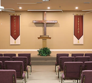 Image of inside view of Lighthouse Bible Church.