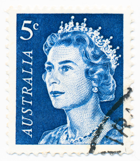 1967 Australia stamp ~ A BIGOT IN THE APPLE TREE by Cheryl Hardacre
