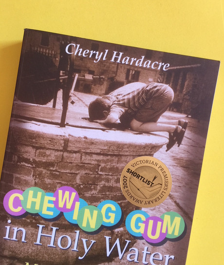 CHEWING GUM IN HOLY WATER by Cheryl Hardacre