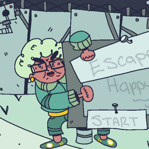 Escape from Happy House