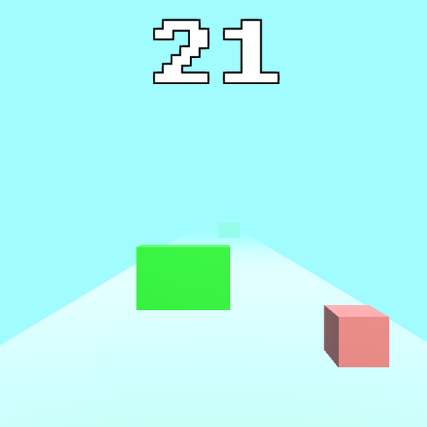 Cube Runner : Tech Demo