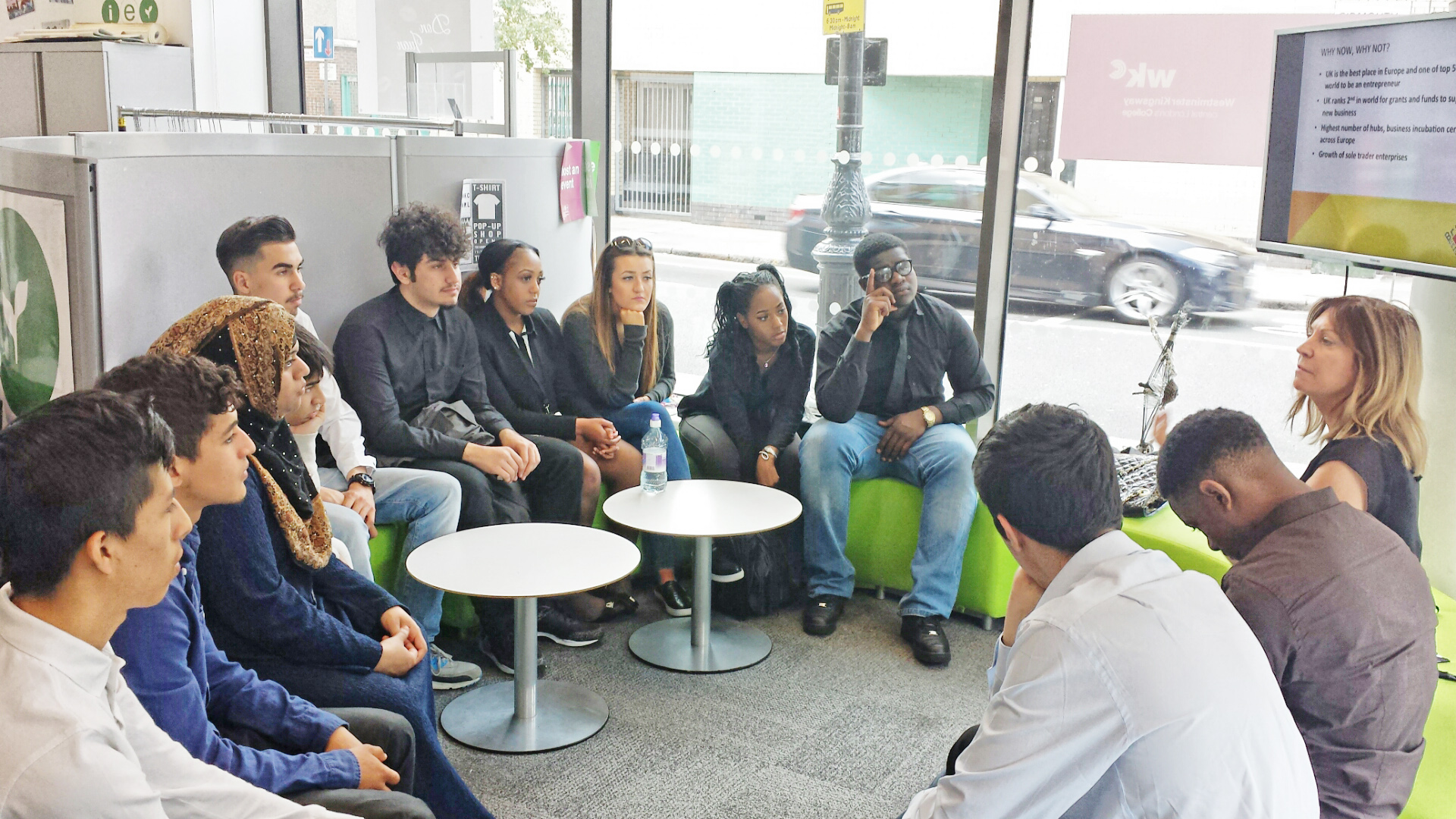 Workshop with young people