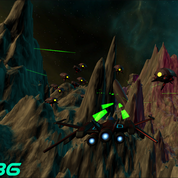 Alien Attack : Tech Demo