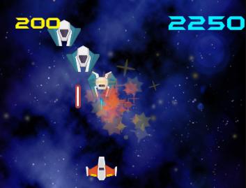 Laser Defender : Tech Demo